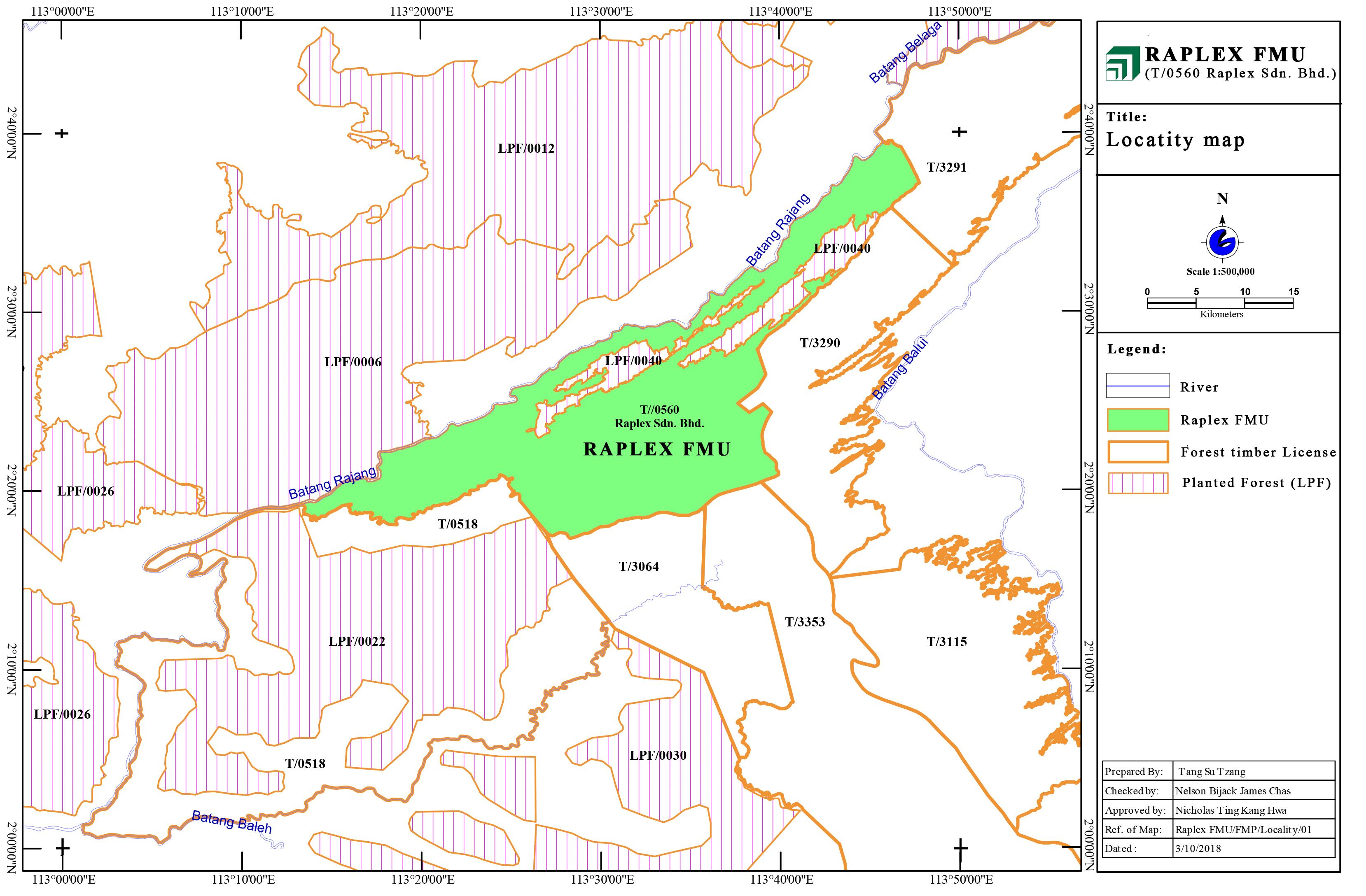 Forest Management Plan – Raplex FMU